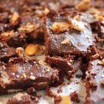 Paleo almond chocolate bar - no dairy, no refined sugar.  Gluten free dessert recipe