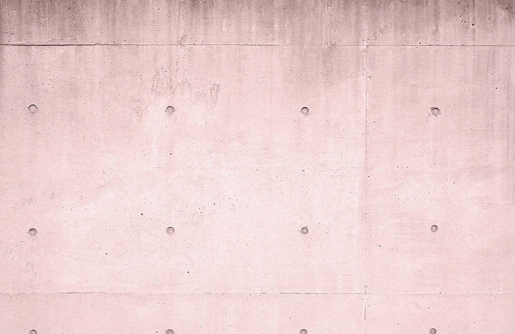 Pink Modern Concrete Block Wallpaper Mural Murals Wallpaper Brick Wallpaper Mural Concrete Blocks Concrete Wallpaper