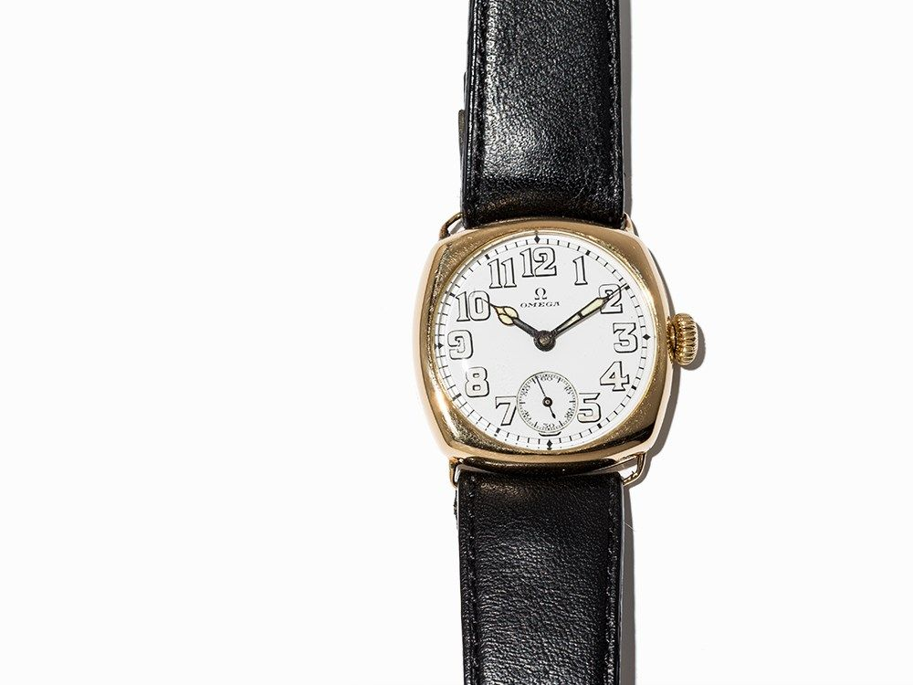 Omega, Early Wristwatch, Switzerland, C. 1917