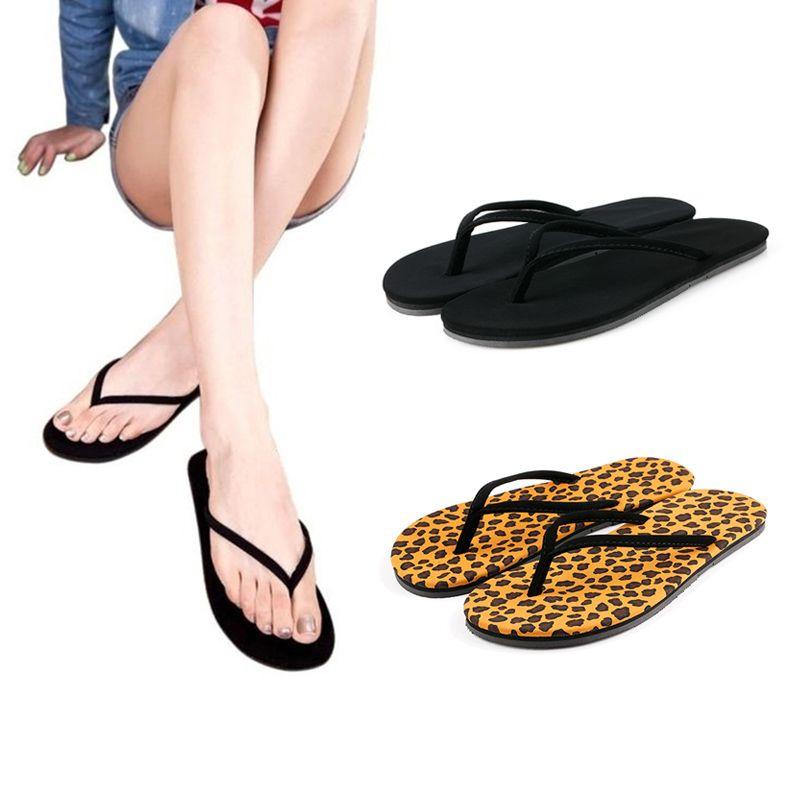 Womens Casual Summer Sandals Outdoor Indoor Flip-Flops Thong Beach Slipper