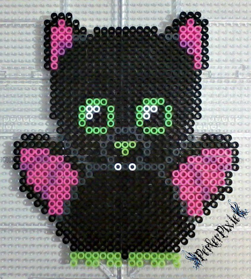 Igor the Bat Beanie Boo by PerlerPixie | perles à repasser ...