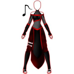Anime Girl Ninja Outfits | anime clothes | Pinterest | Anime Drawings and Drawing ideas