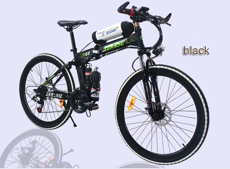 Electric Scooters Mountain Bike Folding Scooter Lithium Battery
