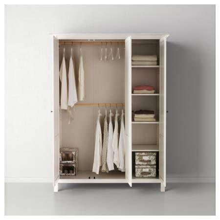 Ikea Hemnes Wardrobe W Mirror Hemnes Kleiderschrank