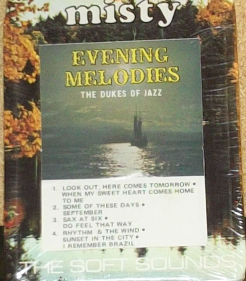 The Dukes Of Jazz Evening Melodies Sealed Jazz 8-Track Tape by RASVINYL on Etsy