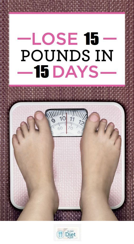 15 Day Diet Plan Review: Lose 15 Pounds In 15 Days
