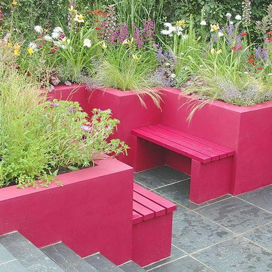 Ideas De Diseño De Jardines Residenciales: Ideas Para Jardines Modernos