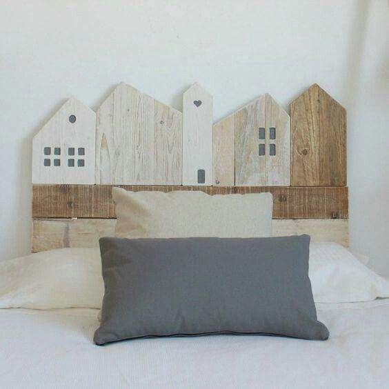 Pin di nuvole di legno su Bedroom Idee letto, Testata
