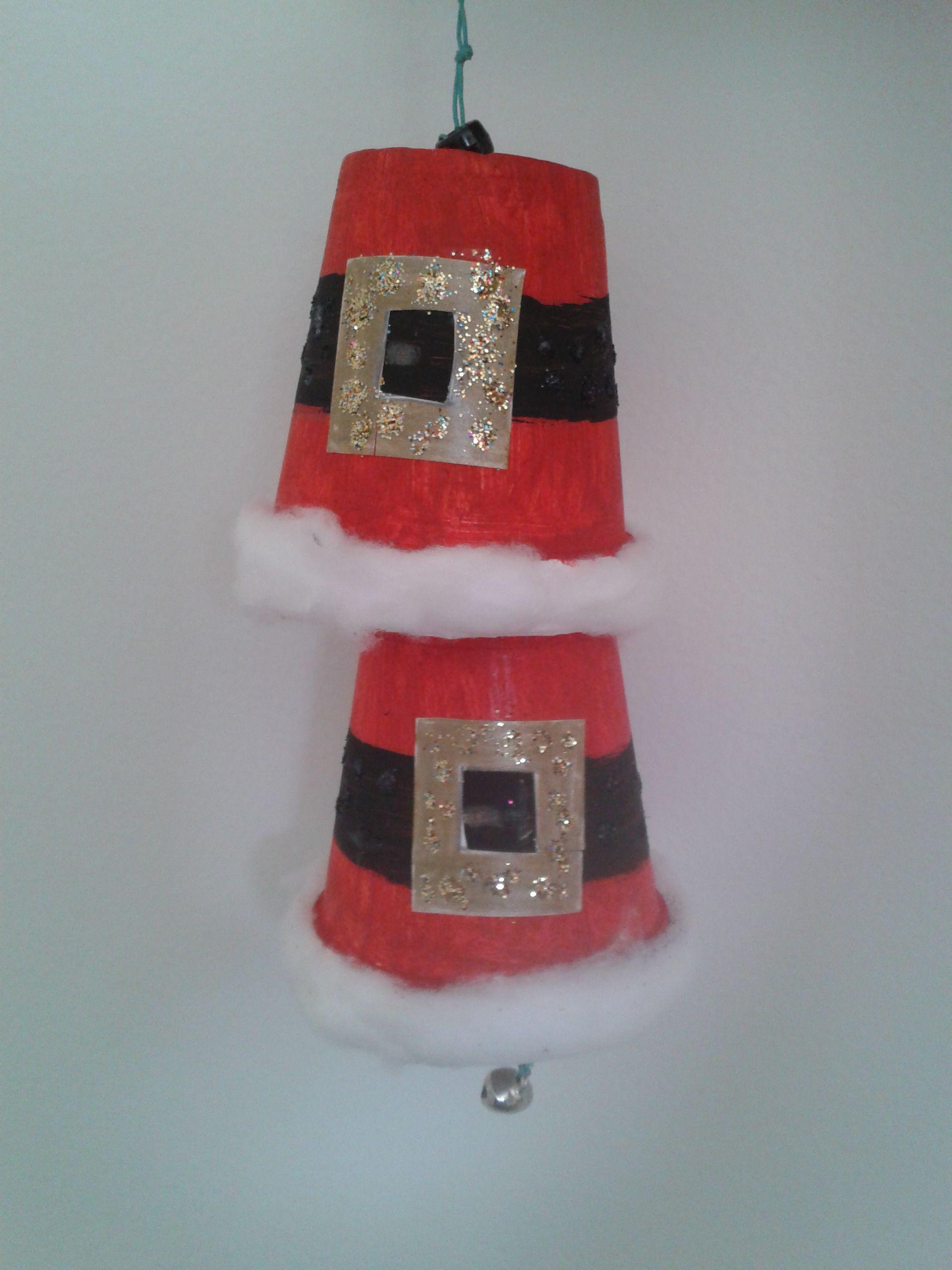 Manualidades De Navidad Campanas.Campanas En Vasos De Icopor Manualidades Navidad