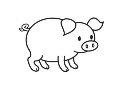 Animales De Granja Dibujos Para Colorear Buscar Con Google Animalitos Para Colorear Cerdo Para Colorear Granja Dibujo