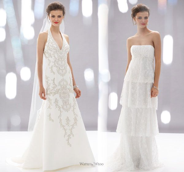 Wedding Dress Collection – Watters   Dress collection, Wedding dress ...