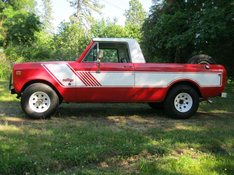 1978 International Harvester : Scout Scout II Terra in International Harvester | eBay Motors