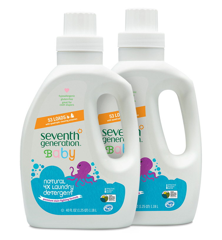 Baby Natural 4x Laundry Detergent Baby Infant Cloth