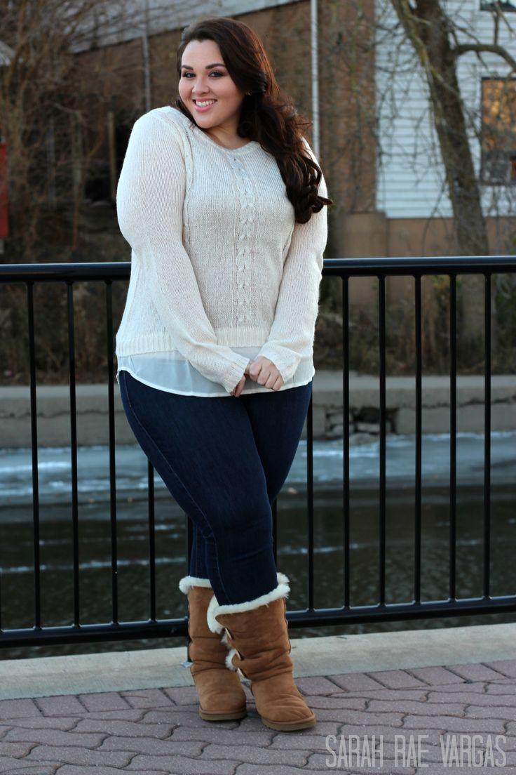 91bb37673b1 Plus size winter fashion ideas