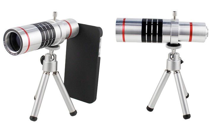 18x Optical Zoom Telescope Camera Lens with Tripod for