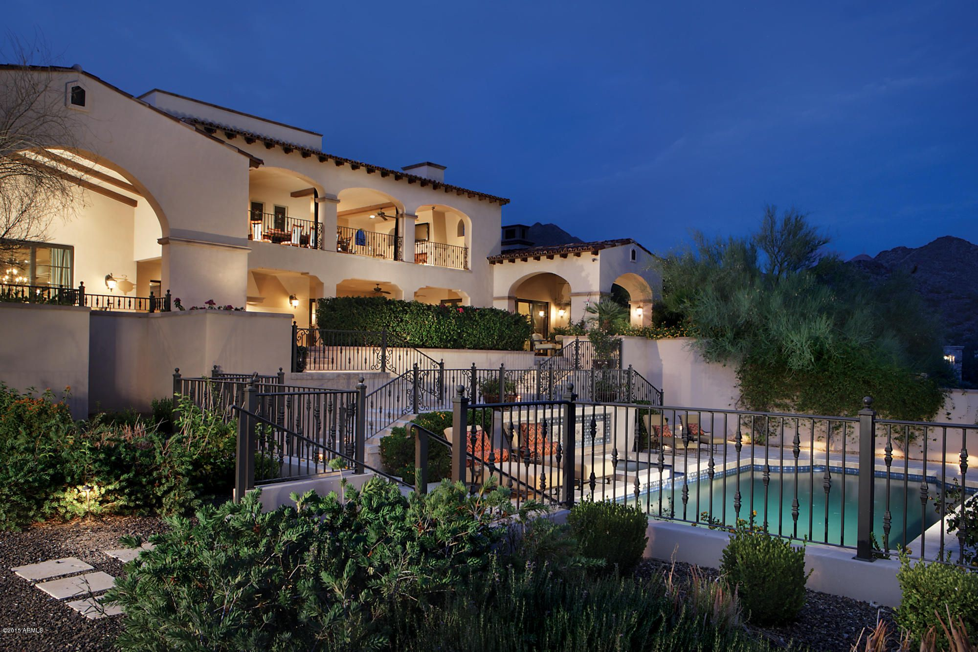 luxury homes for sale in north scottsdale az with a pool - Google Search