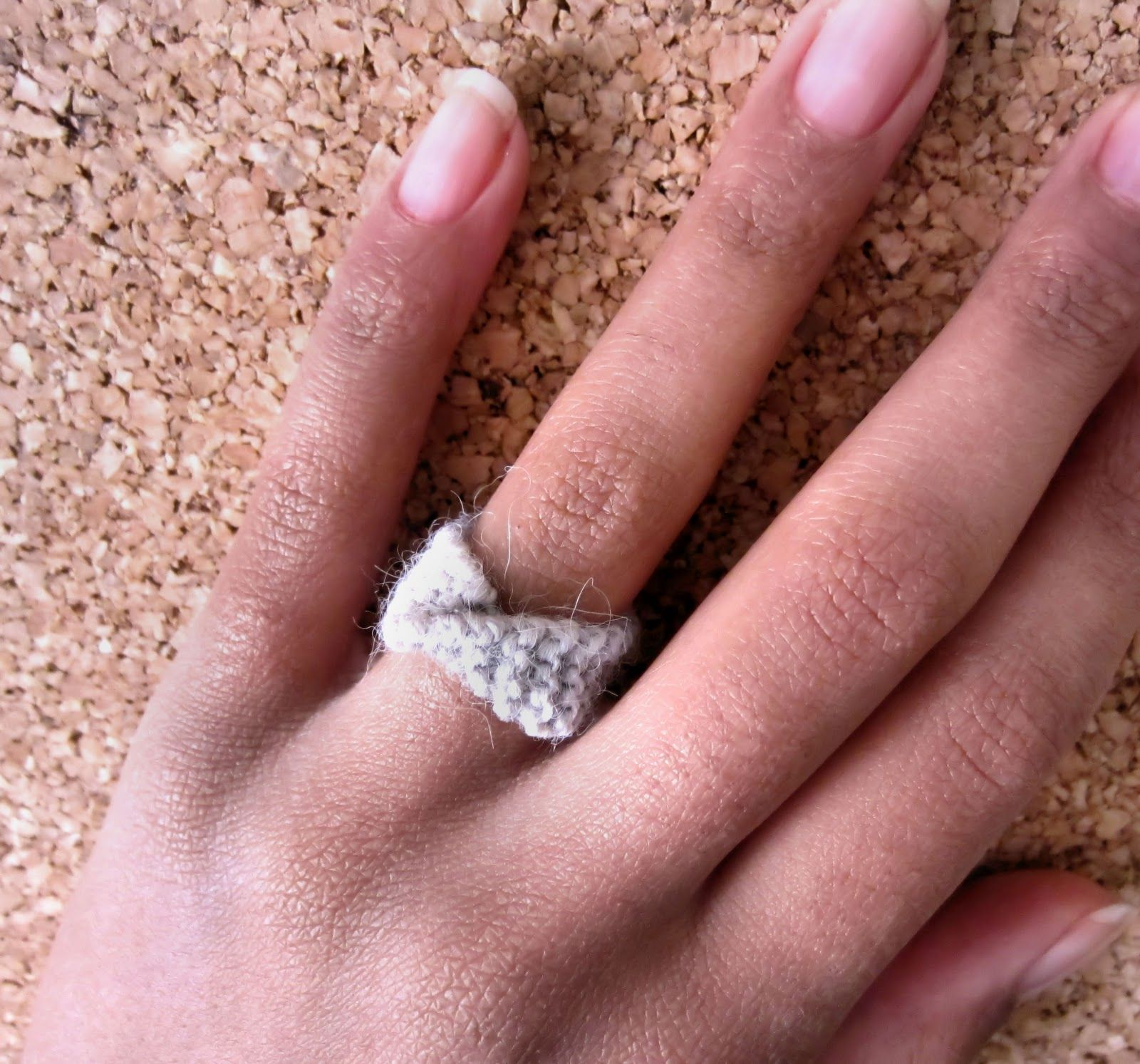 ring gold crochet rings wire design sporadic pin knitted jewelry band modern lace textile