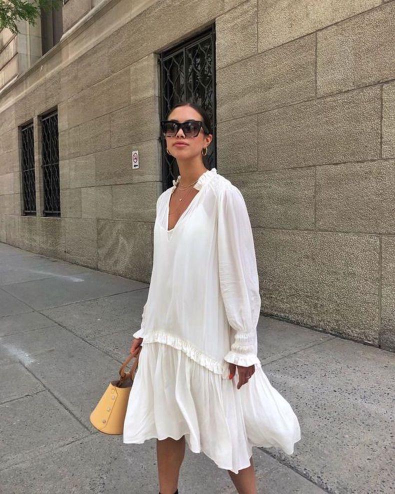 Así Son Los Vestidos Blancos Que Se Llevarán Durante La Temporada De Calor – 2020