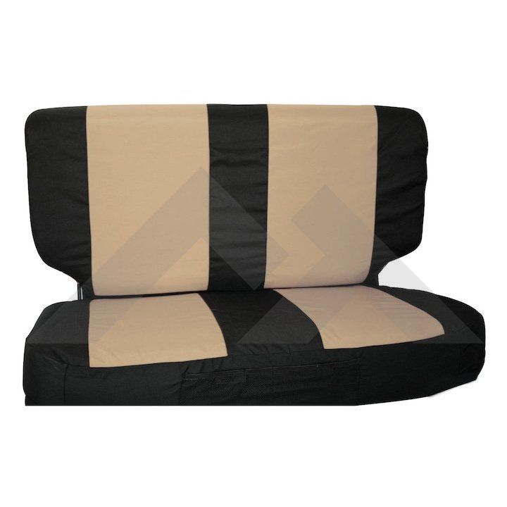 Rear Seat Cover Set Jeep Wrangler Yj 1987 1995 Jeep