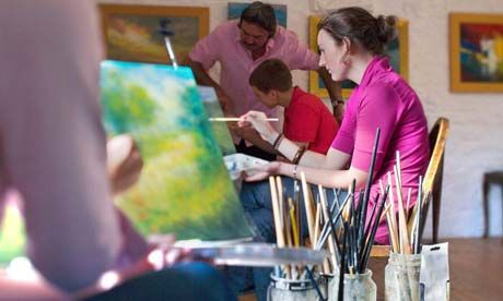 Learn to Paint: How to Create Your First Painting