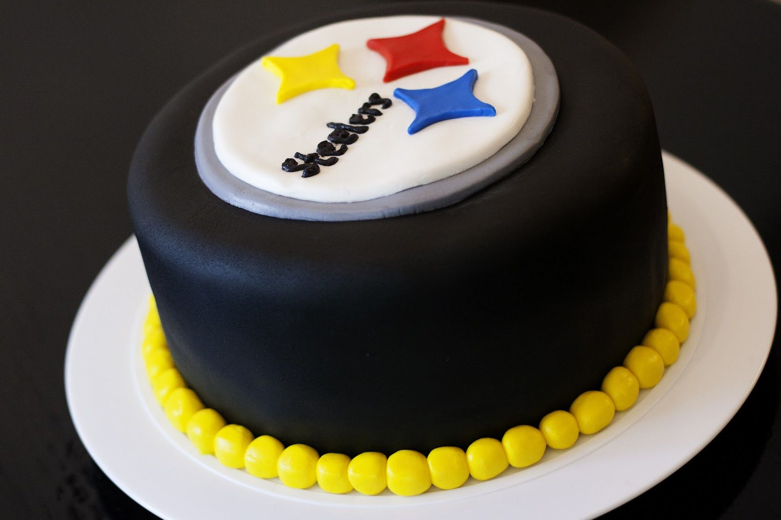 Pittsburgh Steelers Cake Birthday Cake Decorating Bowl Cake Cake