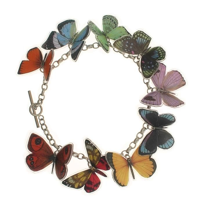 Fable Womens//Ladies Alloy Butterfly Brooch With A Gift Box JW1015