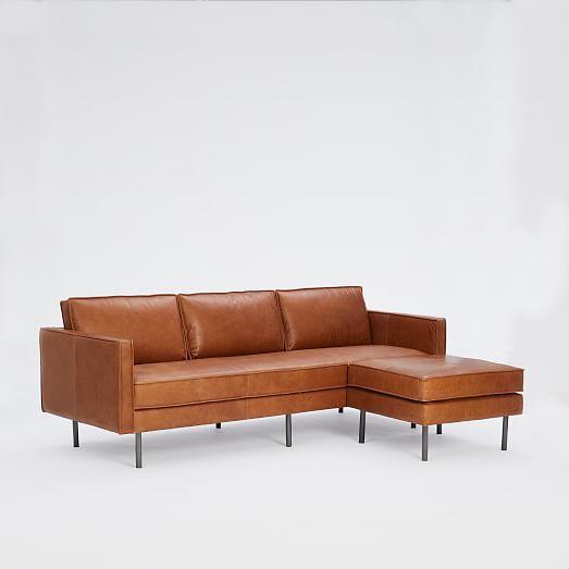 Astonishing West Elm Axel Leather Sofa 89 Ottoman Set In 2019 Theyellowbook Wood Chair Design Ideas Theyellowbookinfo