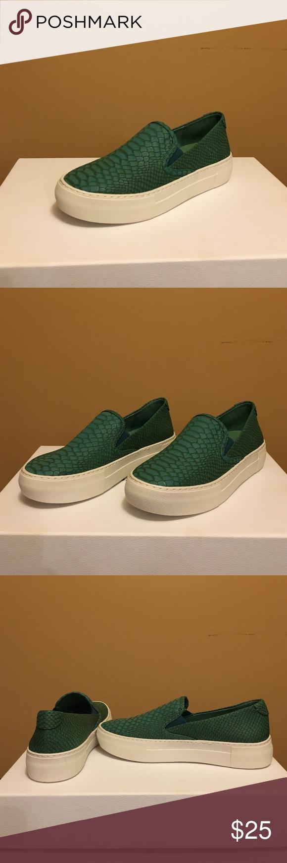 Green Snake Sneaker Green Snake Sneaker. Size 6. Worn once. J Slides Shoes Sneakers