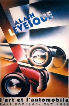 l'art et l'automobile. Alain Lévesque.