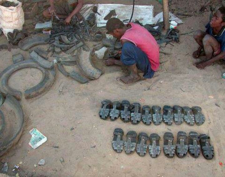 African can make tire shies fit to the milliliter