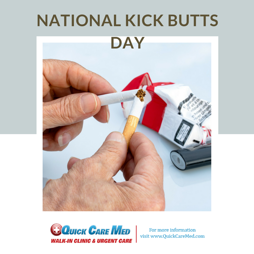 Is A National Day Of Activism That Empowers Youth To Stand Out Speak Up And Seize Control Against Big Tobacco Nationalkickbuttsd Walk In Clinic Day National