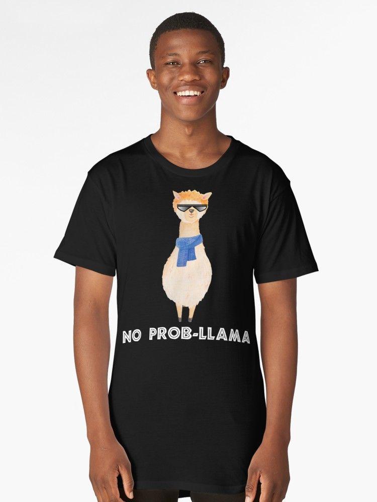 f44dc6e63ff  27.70 Buy  No Prob Llama Shirt