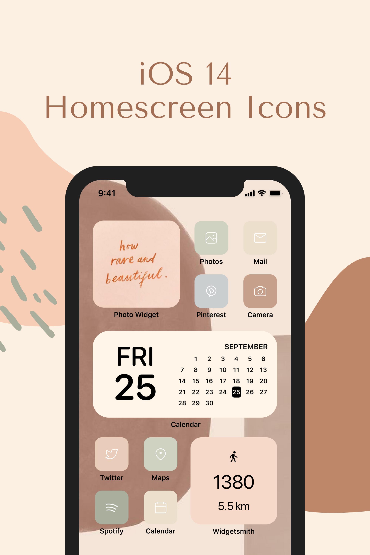 Ios 14 App Icons 450 Minimalist Icons Neutral Earth Tone Etsy In 2021 App Icon Ios App Iphone Homescreen