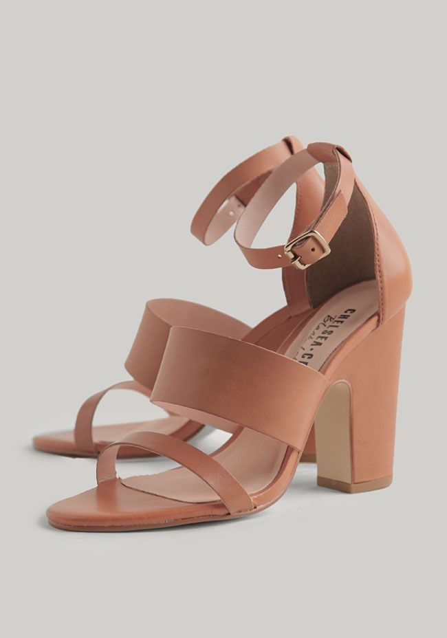 Ollie Strappy Heels By Chelsea Crew at #Ruche @Ruche