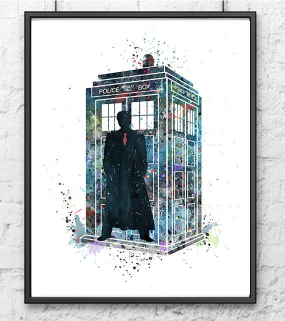 Hey, I found this really awesome Etsy listing at https://www.etsy.com/uk/listing/232949786/tardis-doctor-who-watercolor-dr-who-art
