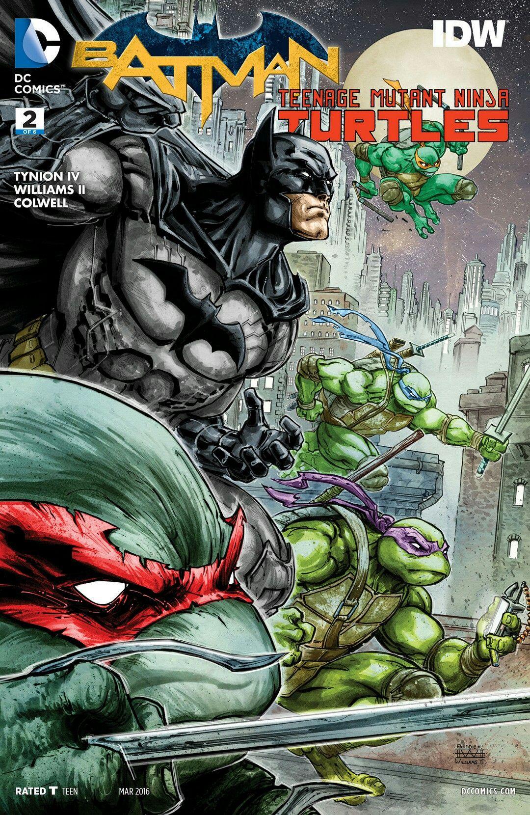 Batman / Teenage Mutant Ninja Turtles #2
