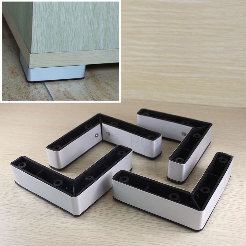Furniture Leg Cabinet Base Aluminum Plastic Corner L Feet 4 10mm In Furniture Legs From Furniture On Aliexpress Com Furniture Legs Furniture Casters Furniture