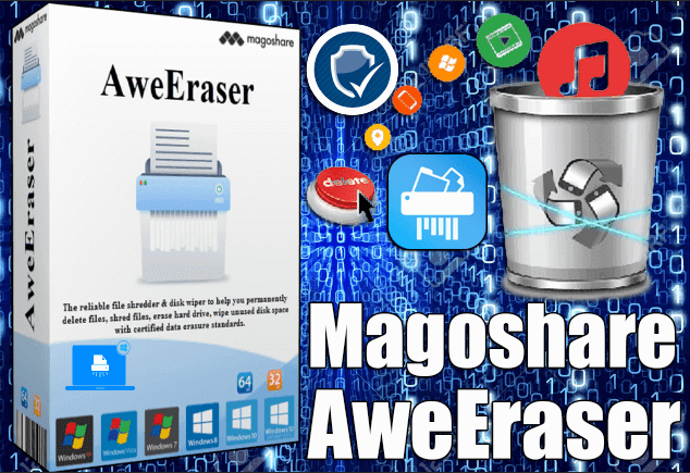 Magoshare AweEraser 3 Full Crack #tech #pc #computer #laptop #free