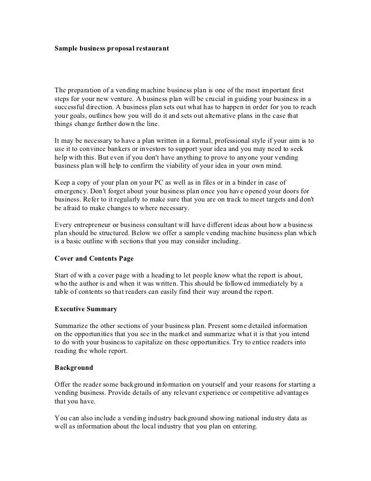 Business Proposal Format Useful document samples Pinterest - lease proposal letter