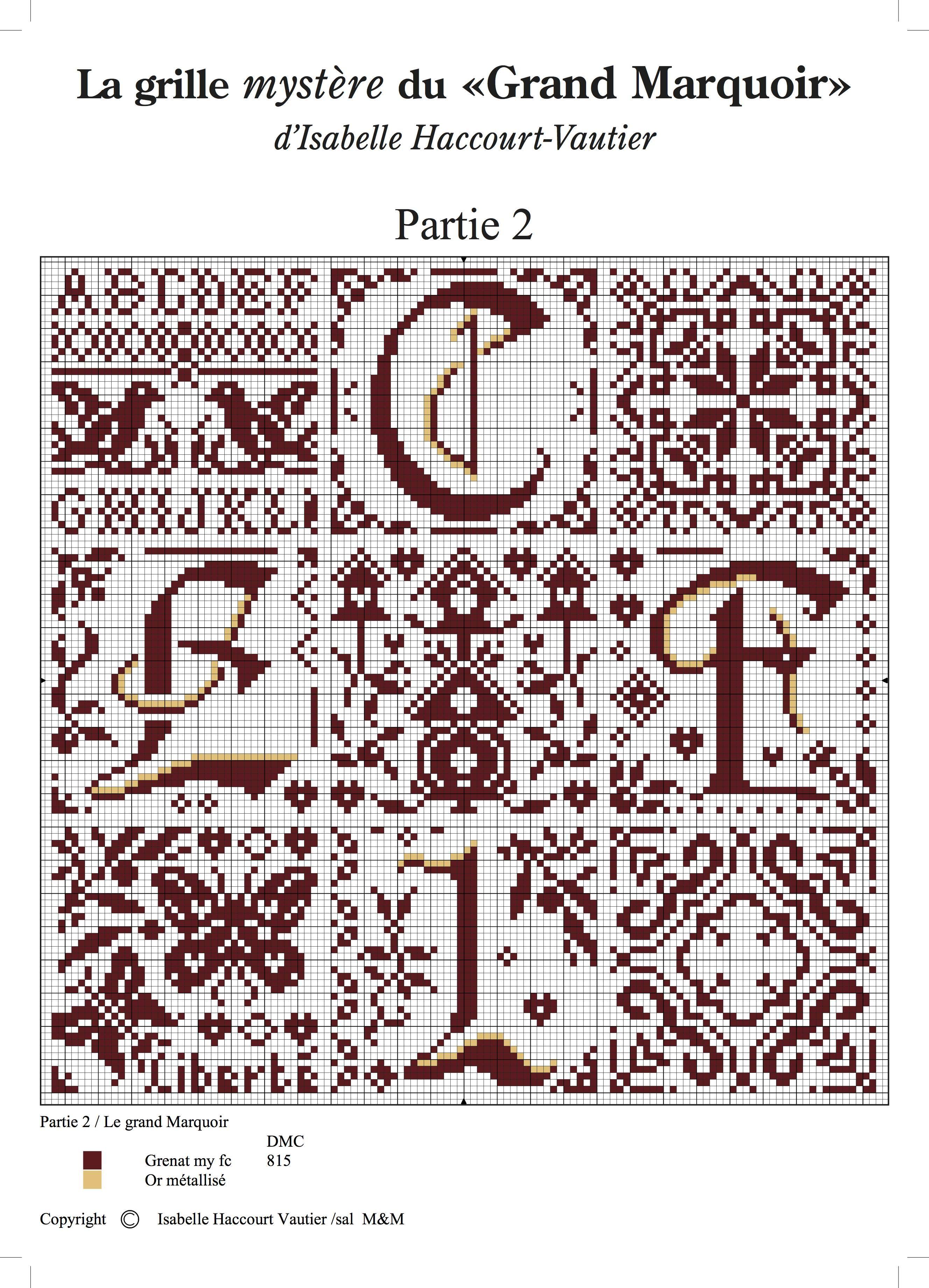 Cross stitch point de croix punto cruz punto croce for Alfabeto punto croce grande