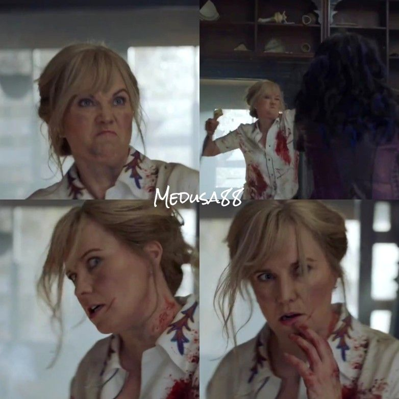 Lucy Lawless As Ruby Knowby In Ash Vs Evil Dead Season 3 Lucy Lawless Bruce Campbell Evil
