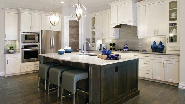 Best Beige Walls With Wood Stained Cabinetry Are Becoming Less 640 x 480