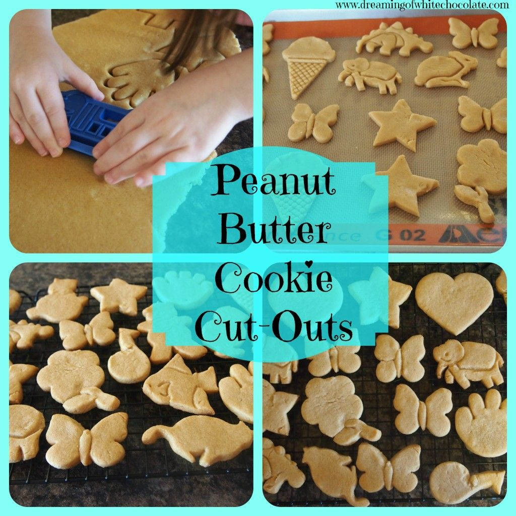 Peanut Butter Cookie Cut Outs These Are By Far The Best Peanut