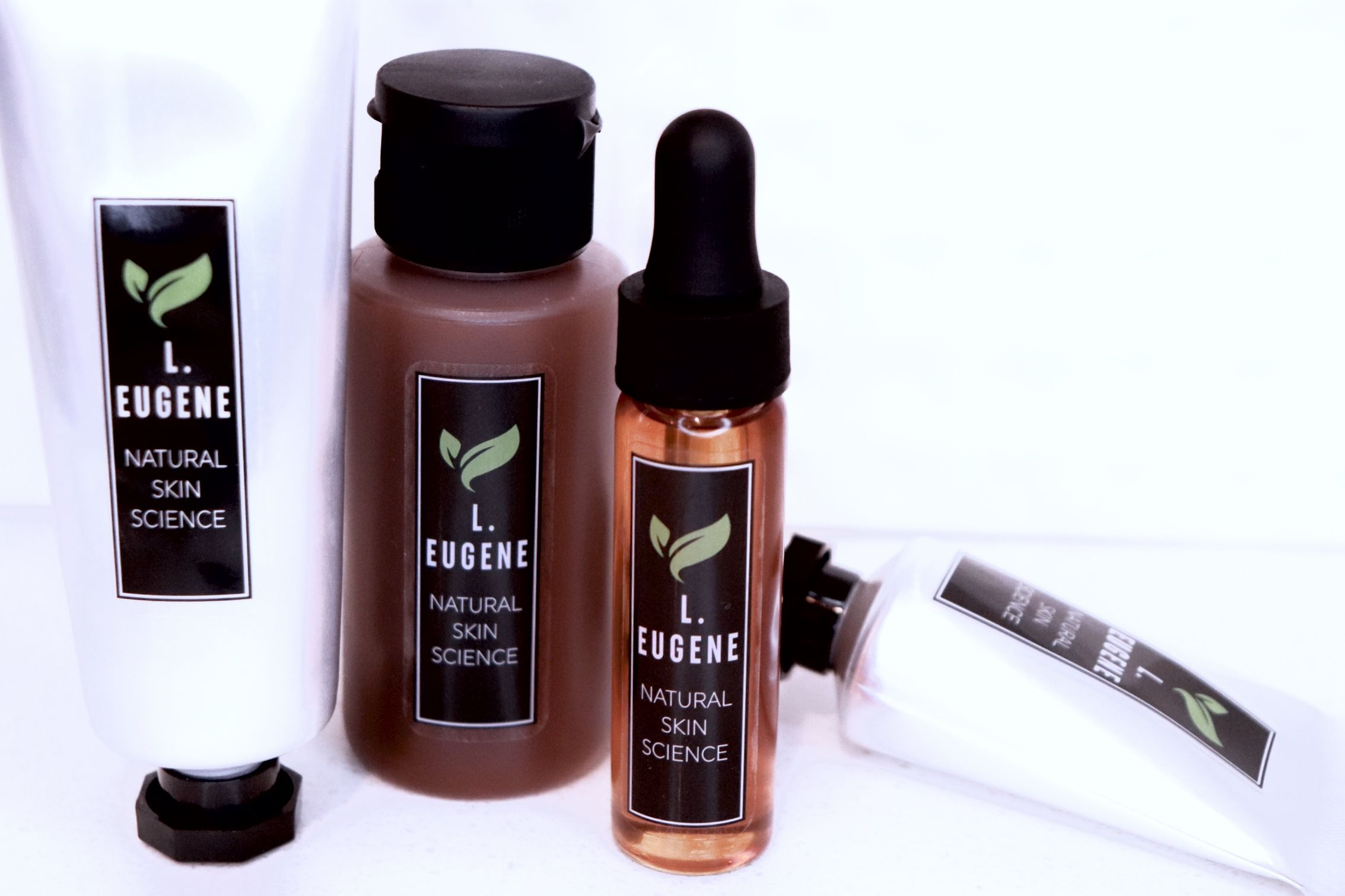 L Eugene Natural Skin Science products are formulated to