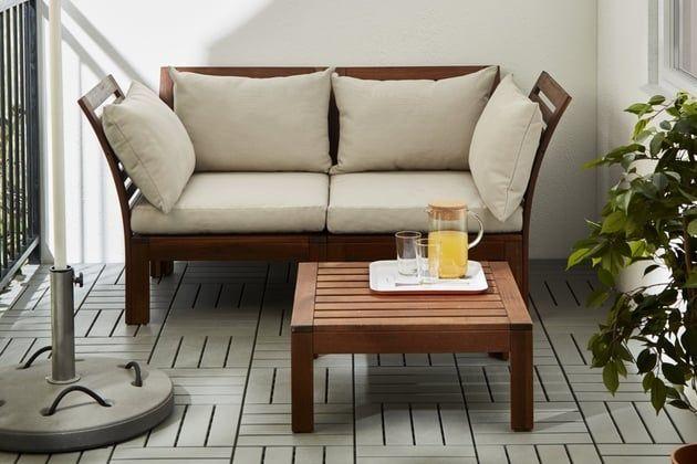 Canape De Jardin Applaro Hallo D Ikea Balcones Terrazas