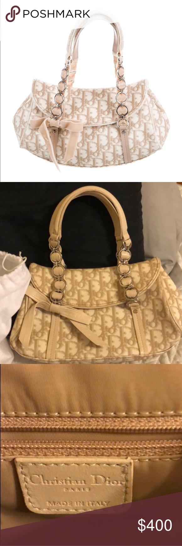 Christian Dior Trotter Romantique bag Beautiful 0e5859e57b80a