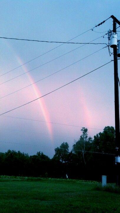 Love double rainbows