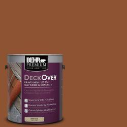 behr premium deckover 1 gal sc 122 redwood naturaltone on home depot behr paint id=30491