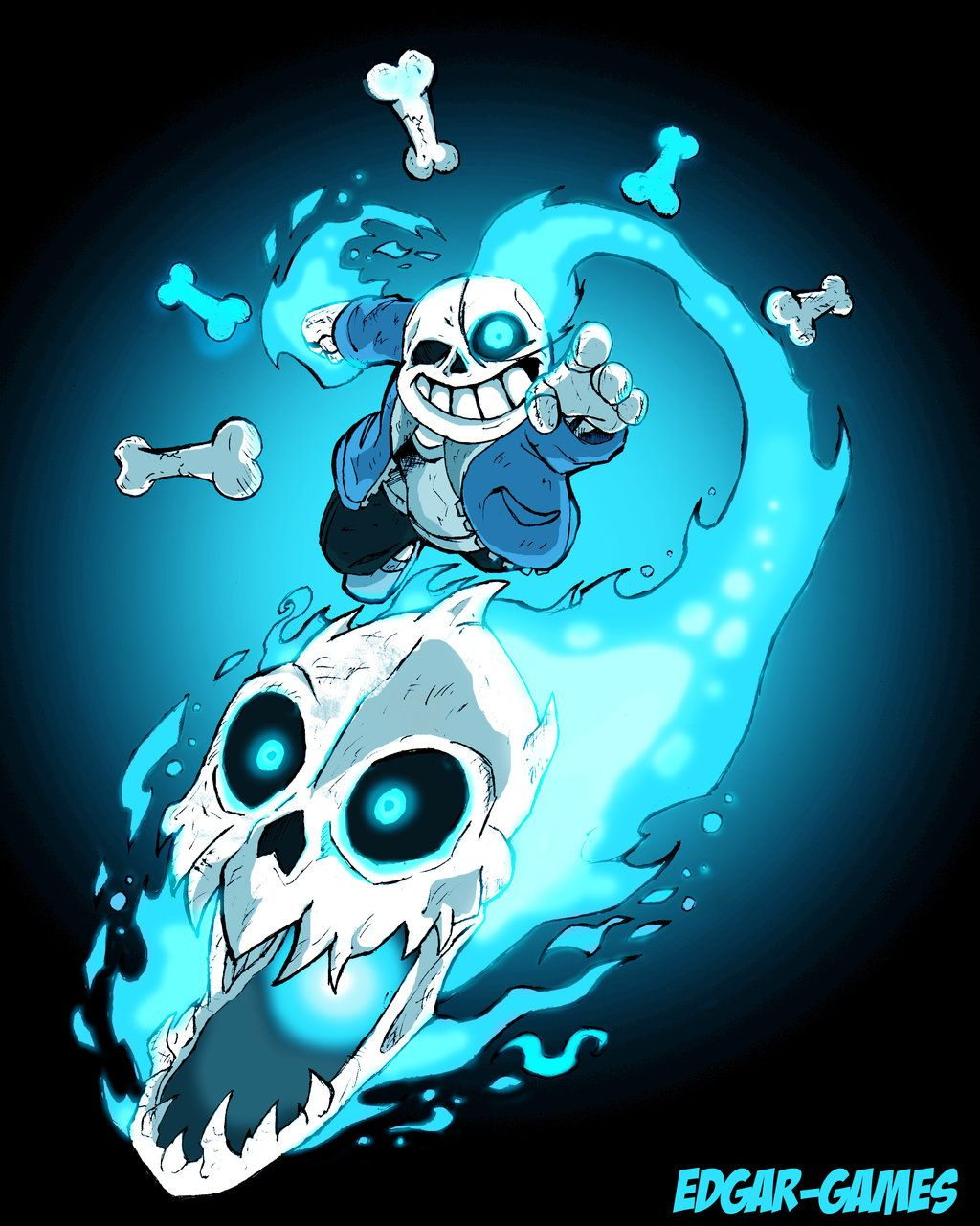 Sans The Skeleton Undertale by