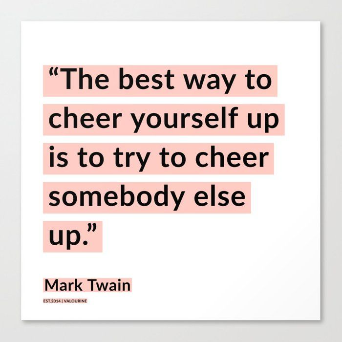 42    | Mark Twain Quotes 200908 Motivational Inspirational Inspiring Motivating Canvas Print by Wordz